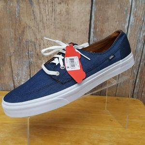 Vans Off the Wall Canvas Sneakers Blue Size 13